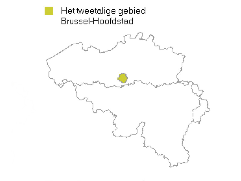 Carte Belgique Communautes Et Regions.10 Questions 1 Quelle Langue Parle T On En Belgique